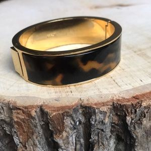 J. Crew tortoise shell clamp bracelet